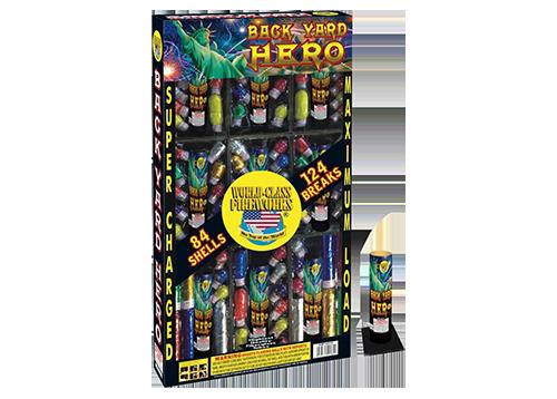 Backyard Fireworks : Back Yard Hero  Fireworks World